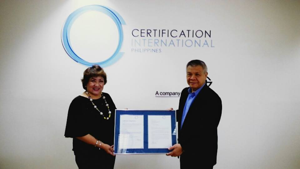 Profiles Asia Pacific ISO Certification Ceremony