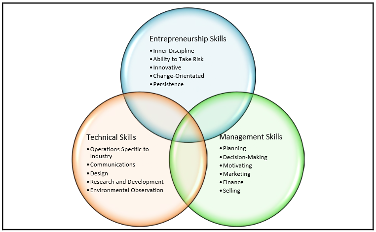 """Image taken from """"Entrepreneurship Skills for Growth-Orientated Businesses"""" by Thomas M. Cooney"""