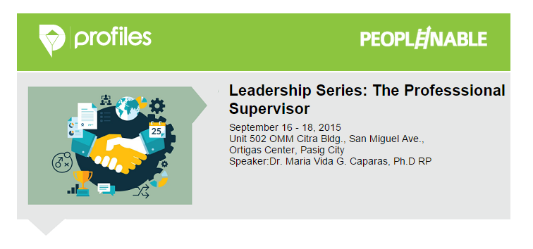 Leadership Series_Professional Supervisor